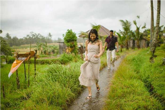 дождливая погода на Бали в декабре