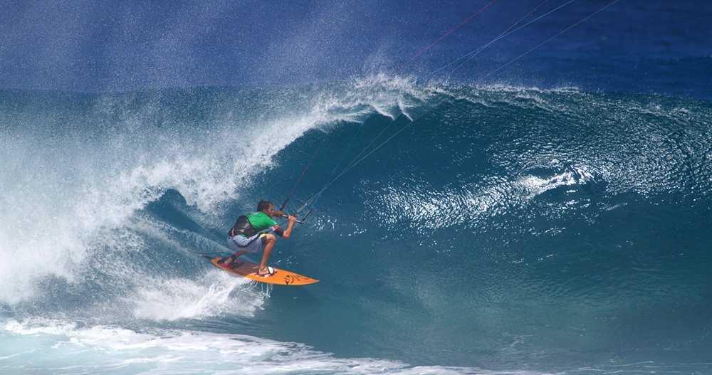 Кайтсерфинг на Бали