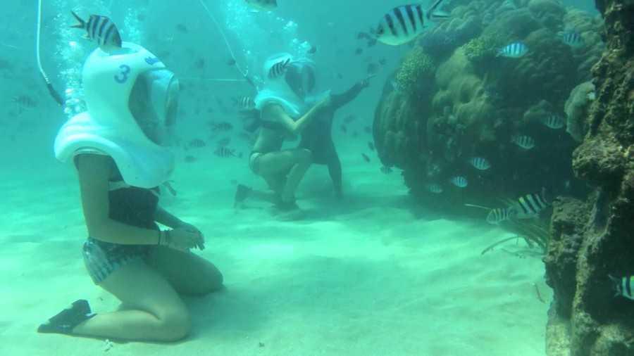 подводные экскурсии на Бали