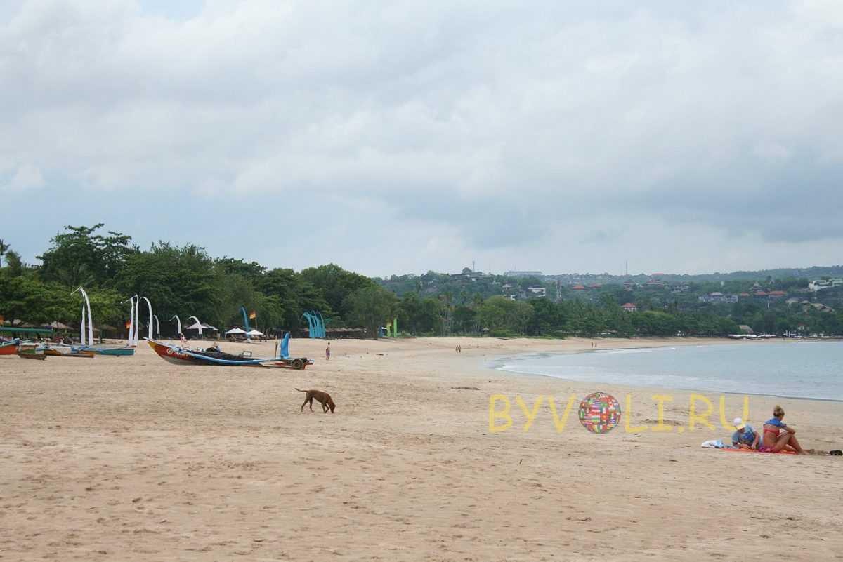 Пляжи Бали без волн