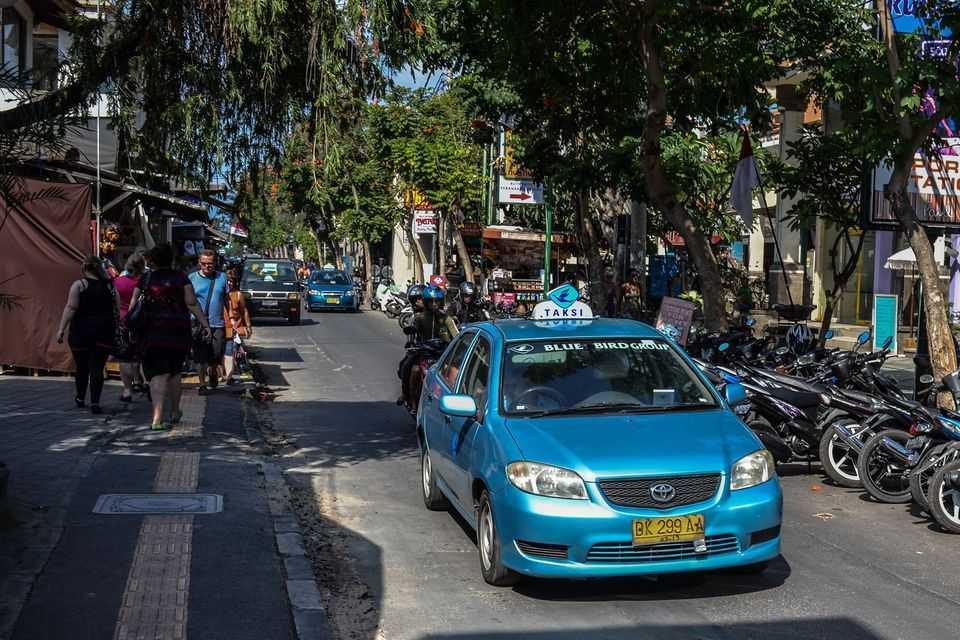 Такси на Бали 9