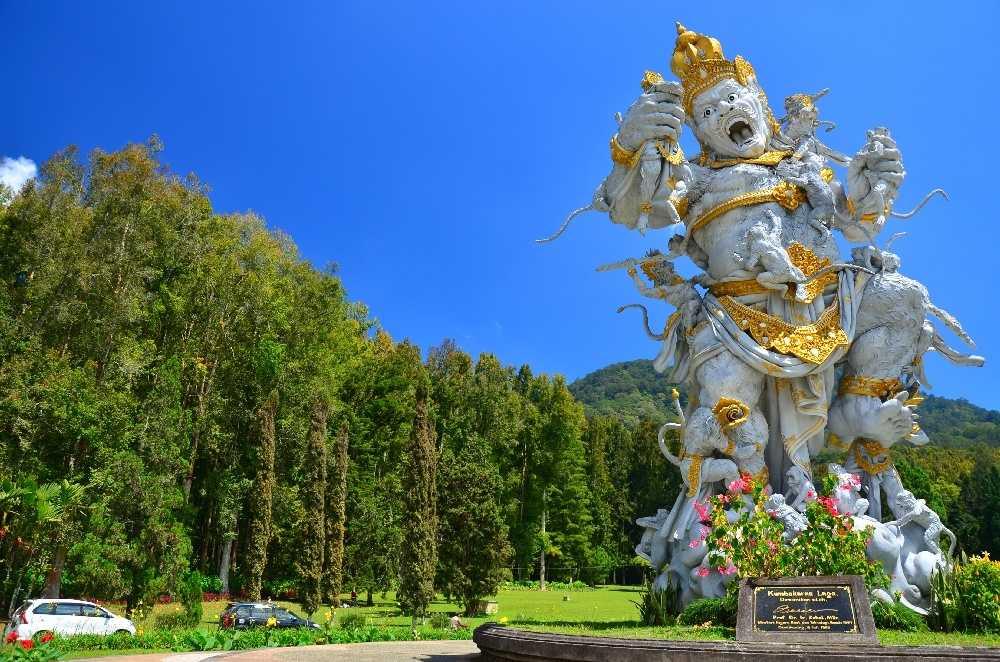 Ботанический сад на Бали 4