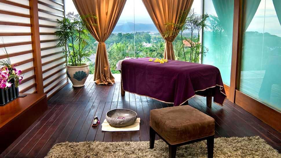 Кабинет для массажа в отеле