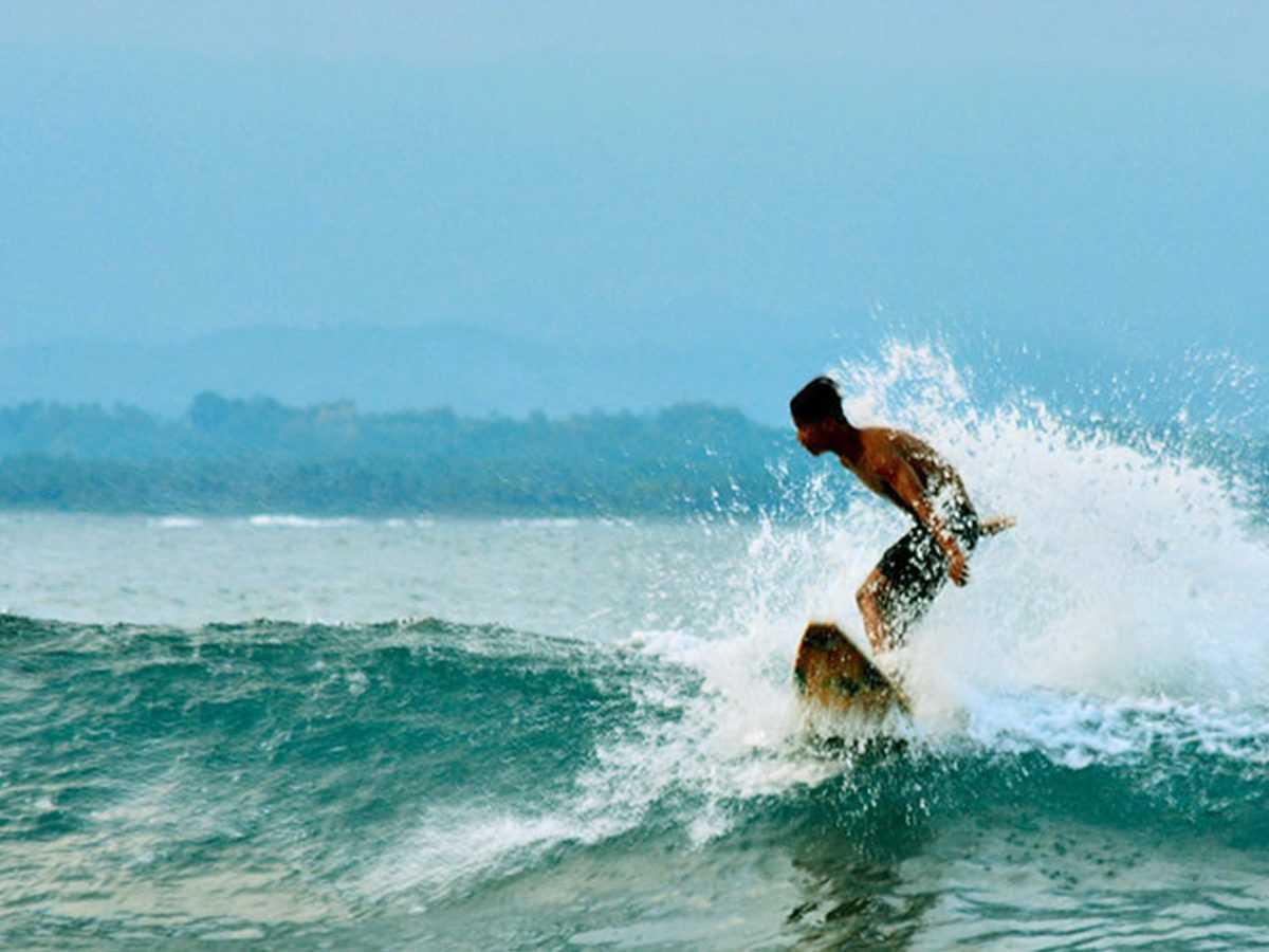 Пляж Баланган в Буките