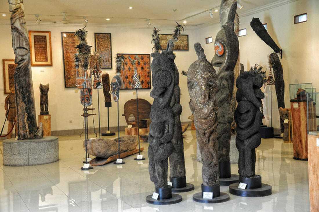 Музей Пасифика в Нуса-Дуа