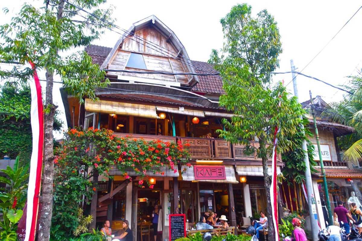 Рестораны и кафе в Убуде