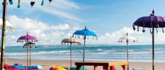 Kuta Beach 330x140 - Пляж Кута Бич на Бали