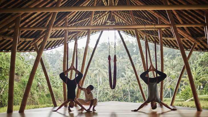 Спортзал в отеле на Бали