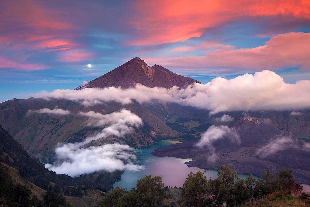 Вулкан Гунунг-Агунг на Бали