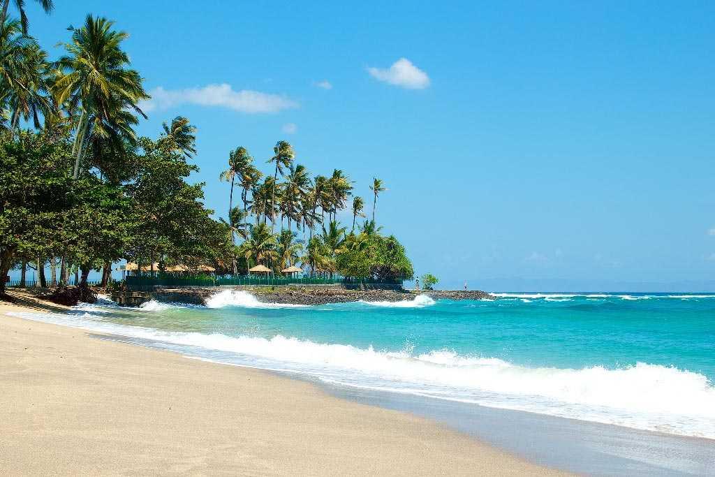 пляж в Кута на Бали