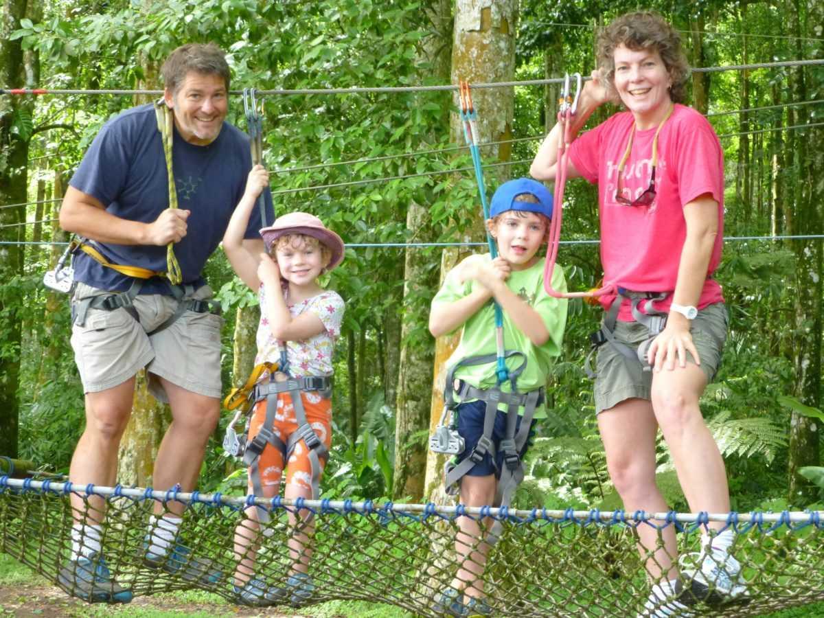 Bali Treetop Adventure Park в Табанане 2