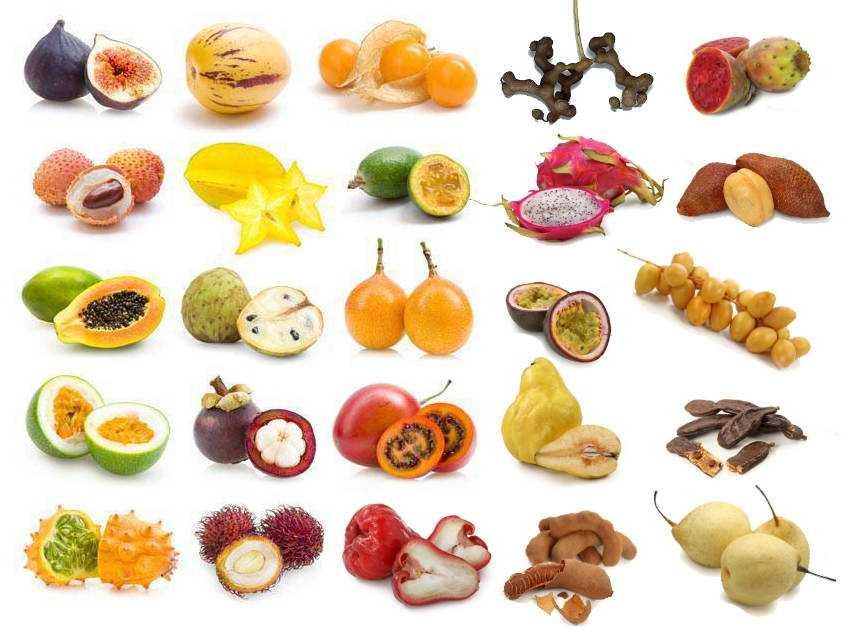 exoticFruits1 - Фрукты на Бали: о вкусном, необычном и полезном