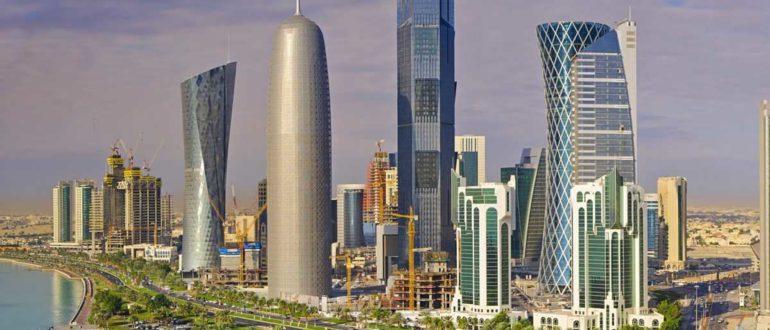 Небоскребы Доха
