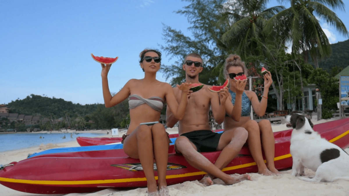 Сезон для пляжного отдыха на Бали