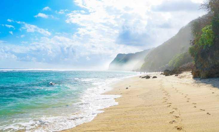 Лучшие пляжи Бали - Пляж Меласти